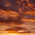 廿日市市阿品台から望む朝焼け 【撮影:2010.8.11 5:32】