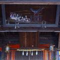 廿日市市地御前 地御前神社拝殿の絵馬 【撮影:2011.12.21】