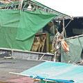 漁船の中に二匹の犬が…   尾道市正徳町 吉和漁港 【撮影:2008.12.29】