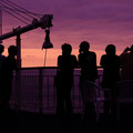 新日本海フェリー 『はまなす』船上からの夕景 【撮影:2011.7.22】
