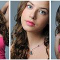 Setcard-Shooting München Make up und Hairstyling