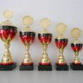 Pokal-Serie Alemania mit Fussball-Emblem ohne Gravur