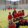 ....dann Handball mit unseren Kleinsten
