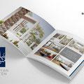 Brochure spread.