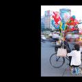 The balloon lady, Saigon, Vietnam