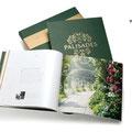 English Brochure and presentation box.