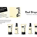 Paul required packaging design, and requested the visuals to be handsketched for his haircare product range.