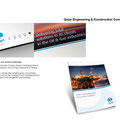 Qcon wanted to radically improve their marketing activity and collateral. They were so impressed with the new re-design of their corporate brochure, further marketing plans and brand management were requested.