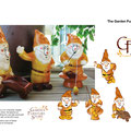 Character Design - Bob the garden gnome is a fun character created for the Garden Furniture Store. He became an integral part of the branding and was later produced in product form as a gift item at the GFS store.