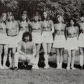 Aktive Teilnehmer/ innen beim Landesturnfest 1974 in Offenburg