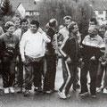 Eröffnungslauf des Lauf-Treffs oder Trimm-Trab am 29. April 1984