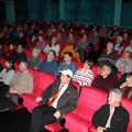 ... und die Zuschauer im gefüllten Kinosaal waren begeistert ...
