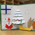 ICTスクールNEL,飛び出すクリスマスカード