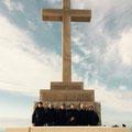 """Gruppenbild auf dem Berg """"Srd"""" über Dubrovnik"""