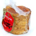 きたやつハム<熟成ロースハム> 豚の一番美味しく柔らかな肉を使用した肉の赤身と 脂のバランスが良いハムです。