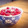 129|365 07.04.2016 - Lecker Frühstück: Amaranth-Joghurt-Pop mit Himbeeren und Kokosflocken, mmmhhh