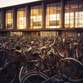 27/365 27.12.2015 - Fahrräder am Heidelberger Hauptbahnhof