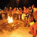 soirées à thèmes autour d'un feu,