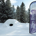 La société Alpes Bivouac organise des soirées festives avec nuits en igloo...