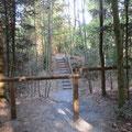 Die Treppe zum Burgstock