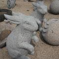 Hase aus Granit
