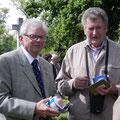 Alfred Zitzwarek und Johann Hans im Gespräch