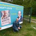 Lesung bei Kultur im Steinbruch, Oberpullendorf