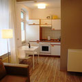 kitchen in a Comfort Apartment