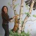Birgit Charles, BIM Muurschildering