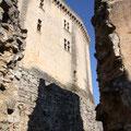 Château-fort de Bonaguil, vue sur le donjon du XIIIème siècle