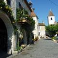 Bastide médiévale de Tournon d'Agenais, les arcades
