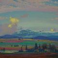 MOUNTAIN VITOSHA. BOLGARIYA 2014 (pasteboard. oil on canvas) 50x80