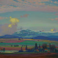 MOUNTAIN VITOSHA. BOLGARIYA 2014 (pasteboard,oil on canvas) 50x80