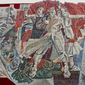 Monumental panel REVOLUTION (mosaic) 1987-1988