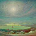 SHAMORDINO CLOISTER 2014 (oil on canvas) 85x110