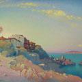 SOZOPOL. BOLGARIYA 2013 (pasteboard,oil on canvas) 60x80
