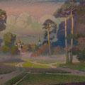 OPTINA PUSTYN CLOISTER 2006 (oil on canvas) 50x110
