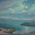 PIER 2014 (pasteboard.oil on canvas) 60x80