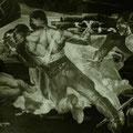 THE GREAT PATRIOTIC WAR (Novosibirsk) 1986-1987 (tempera mural painting) 200x600