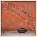 Urformen, 2007 30 x 30, Holz, Papier, Muschel Kaufpreis 300,- Mietpreis 30,-