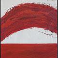 Ohne Titel, Mischtechnik auf Holz, 2006 80 * 100 cm Leihpreis 120.-- Euro, Kaufpreis 1200.-- Euro