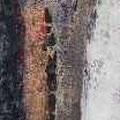 Isländische Impression II 40 x 150, Mischtechnik Kaufpreis 1.100,- Mietpreis 110,-
