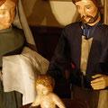 Das Bad ist bereit und Maria ist bereit das Kind abzutrocknen (Milieukrippe in Sankt Maria in Lyskirchen, Foto © lyskirchen)