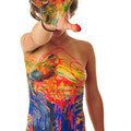 Foto: Andreas Ender, photo-art+painting | BODYpainting 2018 - 50x70cm - Edition of 1