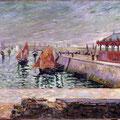 Port en Bessin - http://www.reproarte.com/tableau/Paul_Signac/Le+march%C3%A9+de+poissons_+Port-en-Bessin+/15981.html