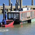 Schubverband zum Süderhafen