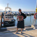 """traditionelle Unterhaltung vom (Hafen)-""""Capitano"""""""