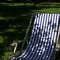 Amrum - Liegestühle im Garten