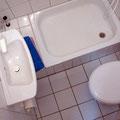 Amrum - Duschbad der Ferienwohnung