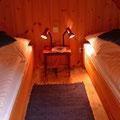 Amrum -Schlafen unterm Dach